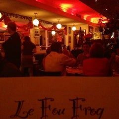 Photo taken at Le Fou Frog by Dana R. on 6/30/2012