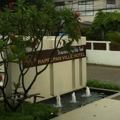 Photo taken at Rapeepan vill by Atom K. on 7/30/2012