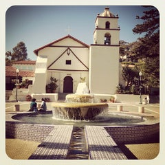 Photo taken at Mission San Buenaventura by Benjamin N. on 7/27/2012