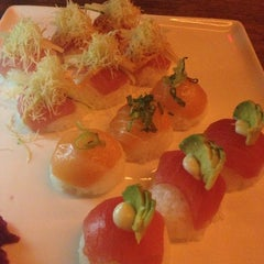 Photo taken at Momo Sushi Shack by Renee F. T. on 4/12/2013