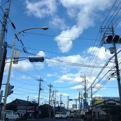 Photo taken at 愛宕山交差点 by yoshi_rin on 3/9/2015