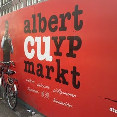 Photo taken at Albert Cuyp Markt by Natasa F. on 3/8/2013
