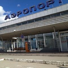 Photo taken at Международный аэропорт Большое Савино / Bolshoye Savino International Airport (PEE) by Настя О. on 5/4/2013