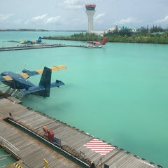 Photo taken at Ibrahim Nasir International Airport (MLE) by Brook F. on 6/17/2013
