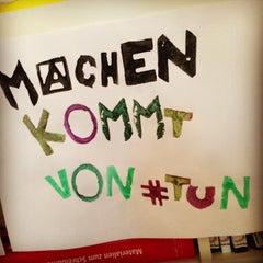 Photo taken at betahaus Hamburg by Ruben S. on 12/12/2012