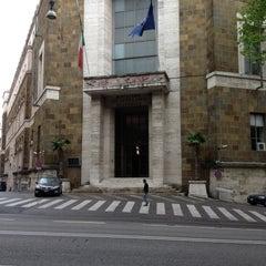 Photo taken at Ministero dello Sviluppo Economico by Marco Z. on 4/26/2013