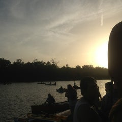 Photo taken at Texas Rowing Center by Andrea M. on 6/22/2013