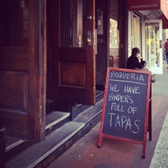 Photo taken at Boqueria by Andrea H. on 10/20/2012