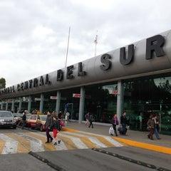Photo taken at Central de Autobuses del Sur by Rulo S. on 3/16/2013