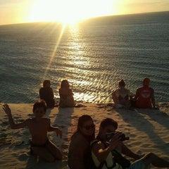 Photo taken at Praia de Jericoacoara by Murilo A. on 7/24/2013