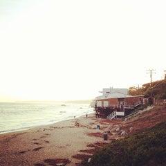 Photo taken at Malibu Public Beach by John C. on 7/19/2013
