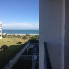 Photo taken at Resort on Cocoa Beach by Elisha S. on 11/12/2014