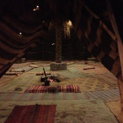 Photo taken at Bedouin Campsite by Mike S. on 6/26/2013