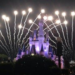 Photo taken at Wishes Nighttime Spectacular by gLoJo P. on 5/22/2013
