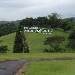 Photo taken at Danau Golf Club by Kayrul A. on 11/19/2012