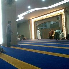 Photo taken at Masjid Jabal Arafah by Safinda Y. on 11/24/2012