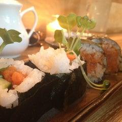Photo taken at Moshi Moshi Sushi by Julia C. on 6/1/2013