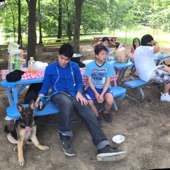 Photo taken at Woodland Discovery Playground @ Shelby Farms by Jadieva N. on 6/17/2015