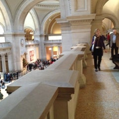 Photo taken at The Great Hall at The Metropolitan Museum of Art by Deborah G. on 11/25/2012