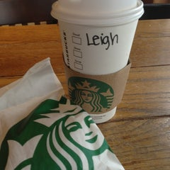 Photo taken at Starbucks by Ms. Leigh @. on 1/10/2013