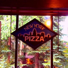 Photo taken at New York Pizza by Alexander T. on 9/2/2013