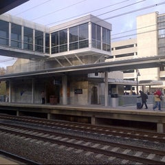 Photo taken at BWI Amtrak/MARC Rail Station (BWI) by Octavio A. on 11/6/2012
