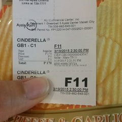 Photo taken at Greenbelt 1 Cinemas by Fely L. on 3/19/2015