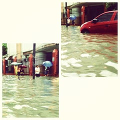 Photo taken at Pablo Ocampo Sr. Avenue by Jarie D. on 6/13/2013