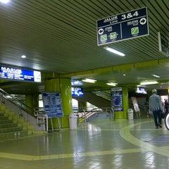 Photo taken at Stasiun Gambir by Jasmine N. on 3/14/2013