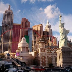 Photo taken at New York-New York Hotel & Casino by Alan S. on 1/28/2013