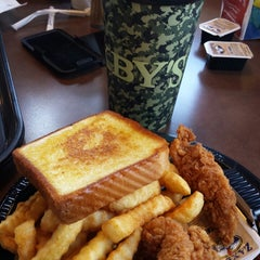 Photo taken at Zaxby's by David P. on 4/20/2015