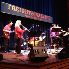 Photo taken at Freight & Salvage Coffeehouse by Arlene on 11/30/2012