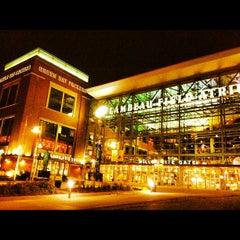 Photo taken at Lambeau Field by Paul E. on 10/30/2012