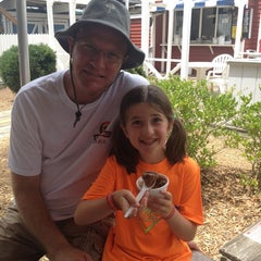 Photo taken at The Salty Dog Ice Cream Shop by Tonya K. on 7/3/2014