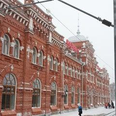 Photo taken at Ж/Д вокзал Казань-1 / Kazan Train Station by Ольга С. on 3/24/2013