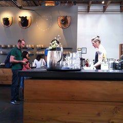 Photo taken at Four Barrel Coffee by Hans C. on 6/1/2013