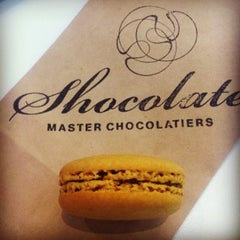 Photo taken at Shocolate Master Chocolatiers by Carly S. on 8/21/2013