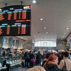 Photo taken at Gare Centrale by Mati M. on 3/22/2013
