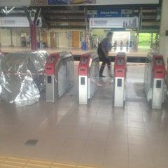 Photo taken at KTM Line - Kepong Sentral Station (KA07) by Asrol A. on 5/5/2013