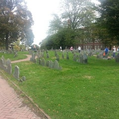 Photo taken at Copp's Hill Burying Ground by James G. on 10/8/2012
