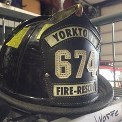Photo taken at Yorktown Fire Department by Jay W. on 5/18/2013