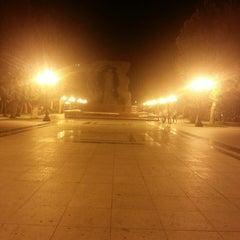 Photo taken at Hüseyn Cavid parkı by Nargiz G. on 7/1/2013
