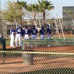 Photo taken at Camelback Ranch - Glendale by Lauren J. on 3/24/2013