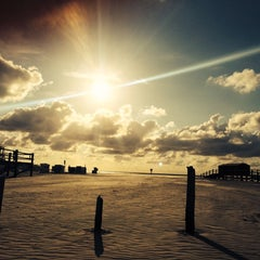 Photo taken at St. Peter-Ording Strand by The Basti J. on 7/30/2014