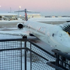 Photo taken at Concourse A by Kevin P. on 1/7/2014