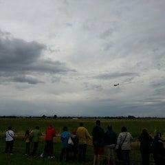 """Photo taken at Aeroporto di Parma """"Giuseppe Verdi"""" (PMF) by Lorenzo G. on 6/9/2013"""