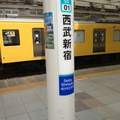 Photo taken at 西武新宿駅 (Seibu-Shinjuku Sta.) (SS01) by Toshihiko K. on 7/20/2013