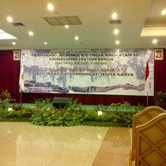 Photo taken at Desa Wisata Hotel , Resort & Convention Hall by Arsheila T. on 6/8/2013