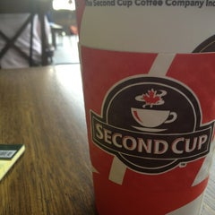 Photo taken at Second Cup by Riad A. on 4/3/2013
