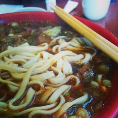 Photo taken at Lao Shan Dong Homemade Noodle House by Stanley L. on 8/2/2014